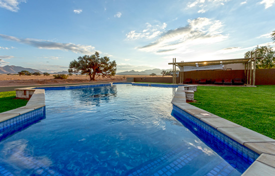The Pool at Sossusvlei Lodge