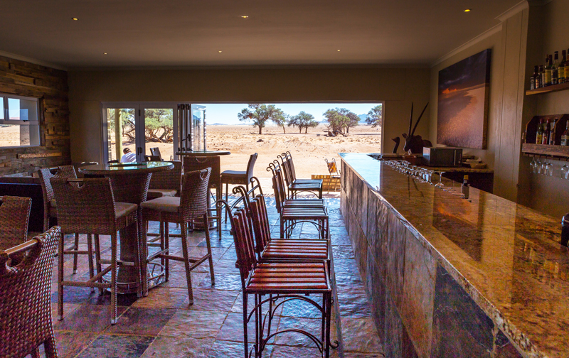 Sossusvlei Lodge Airconditioned Bar
