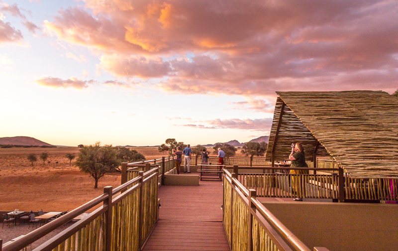 Sossusvlei Lodge Sundowner Deck