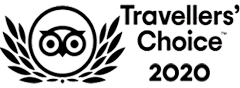 TripAdvisor Traveller's Choice Award 2020 - Certificate of Excellence - recognised for receiving consistently great reviews